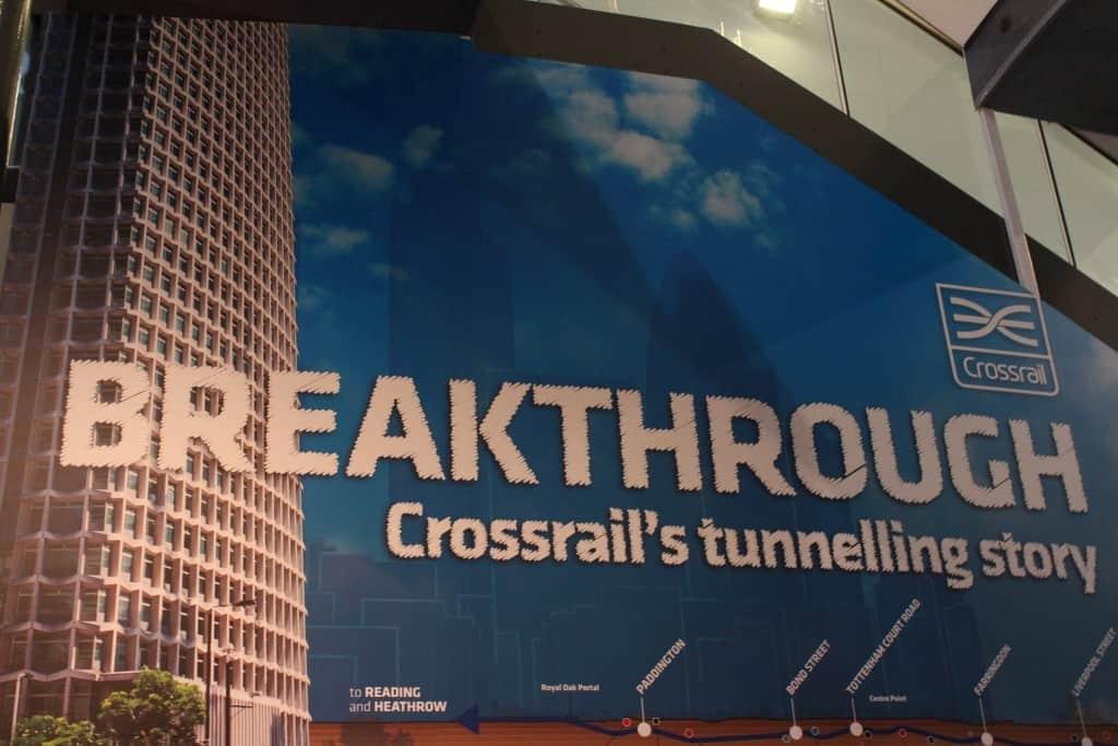Crossrail install london transport museum 1 Vortex Events