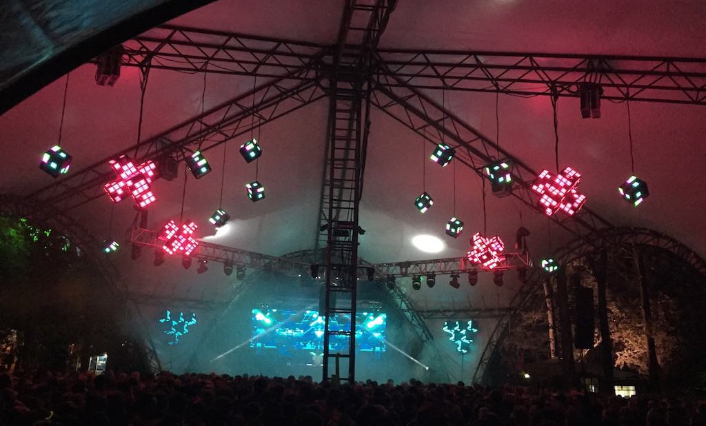 Glastonbury Glade Stage 2015 Vortex Events LED Screen Hire Vortex Events