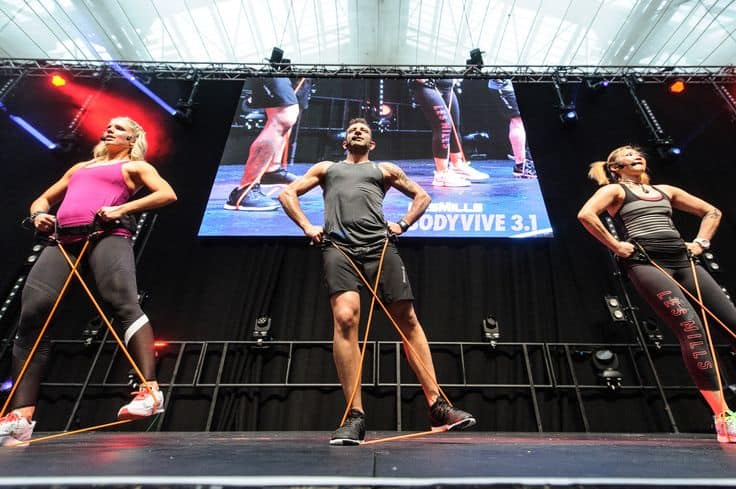 Les Mills 2015 - Alexandra Palace Vortex Events