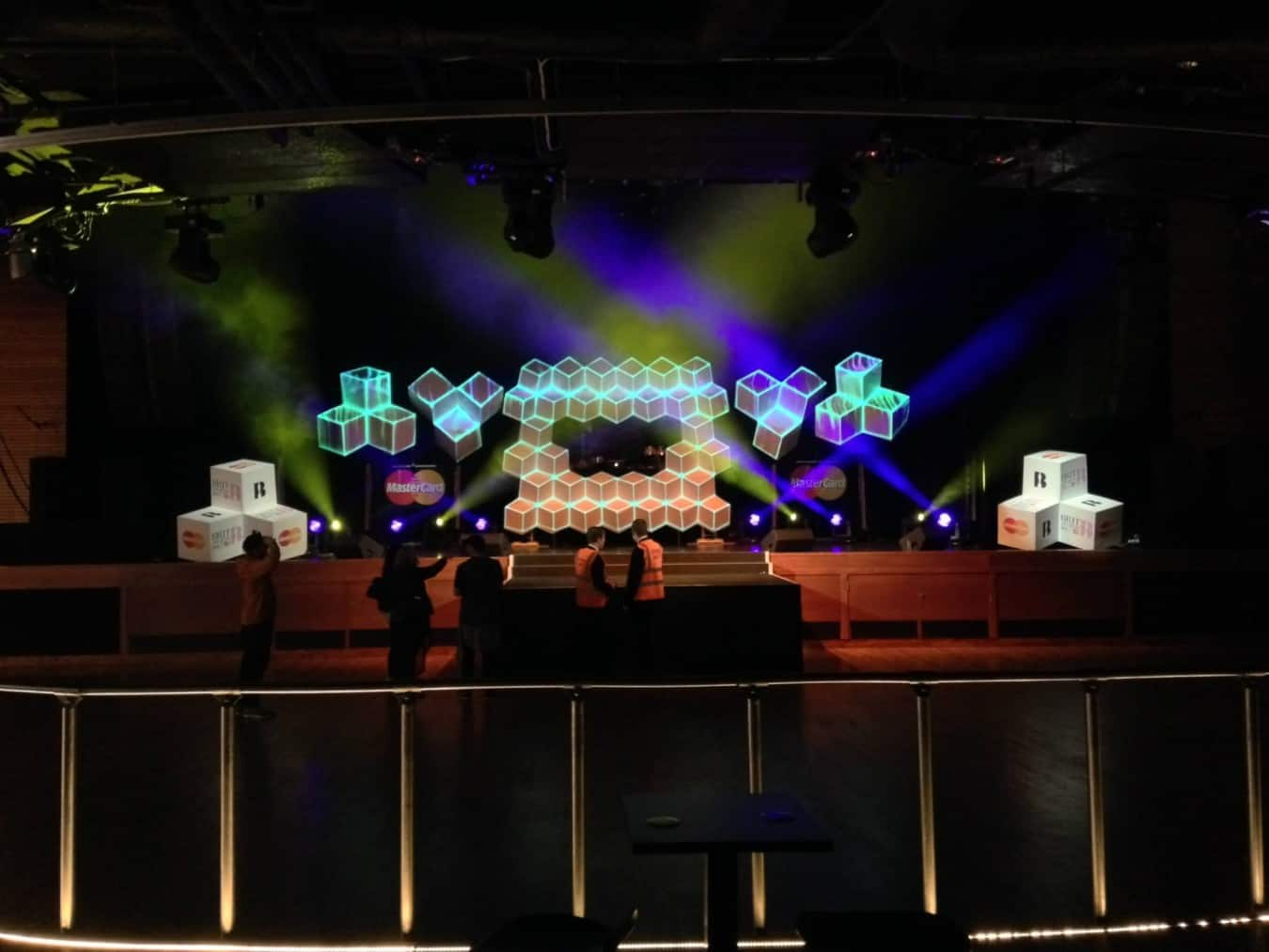Brit Awards 2015 Mastercard After Party Vortex Events Ltd
