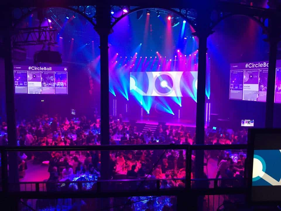 Video Hire Projector Hire Playback Pro Vision Mixing Corporate Event Creative Circle Awards Ceremony Circle Ball