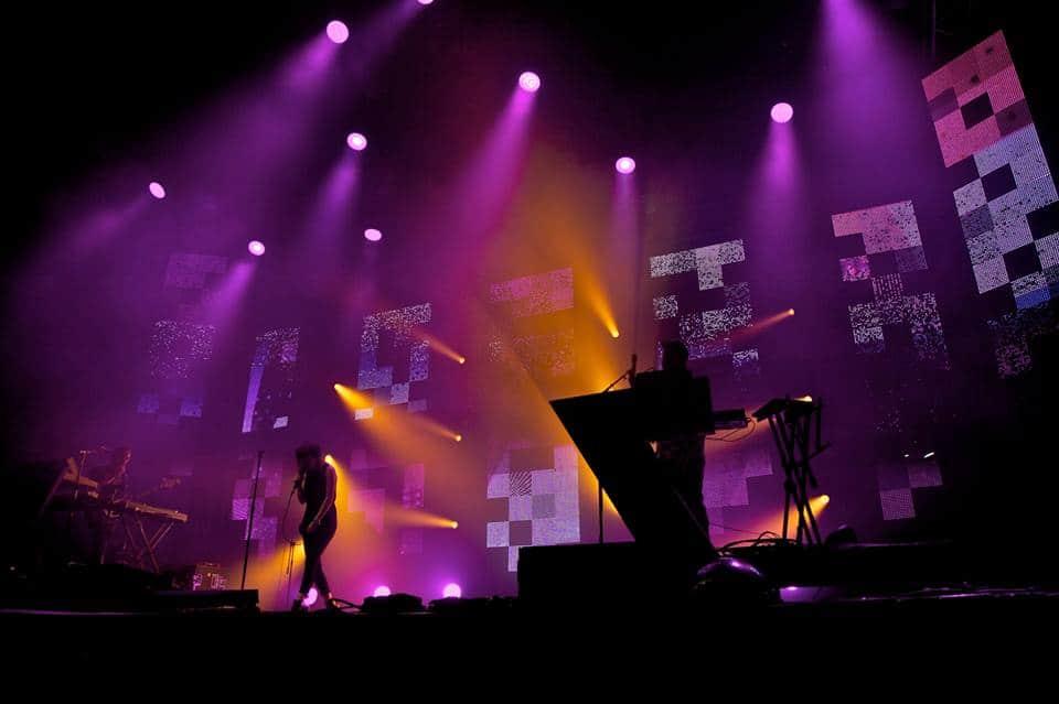 Stealth LED Screen Hire Custom LED Solutions Glastonbury Festival 2014 John Peel Stage Vortex Events