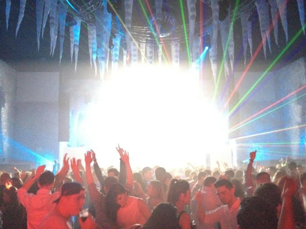 nye2012-forum-laser-show-2 Vortex Events