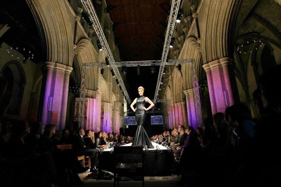 st.albans fashion week show model full size Vortex Events