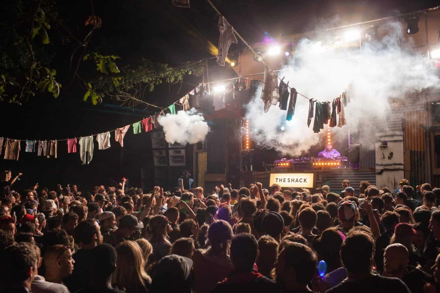 Farr Festival 2015 Shack Lighting Funktion one Vortex Events