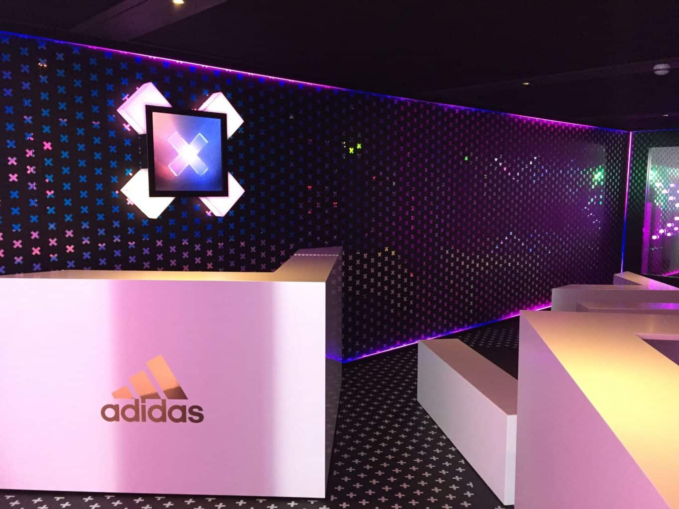 Advertising video hire corporate events adidas vortex events