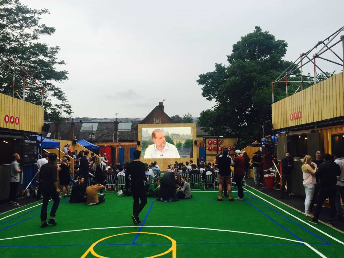 outdoor led screen hire in London