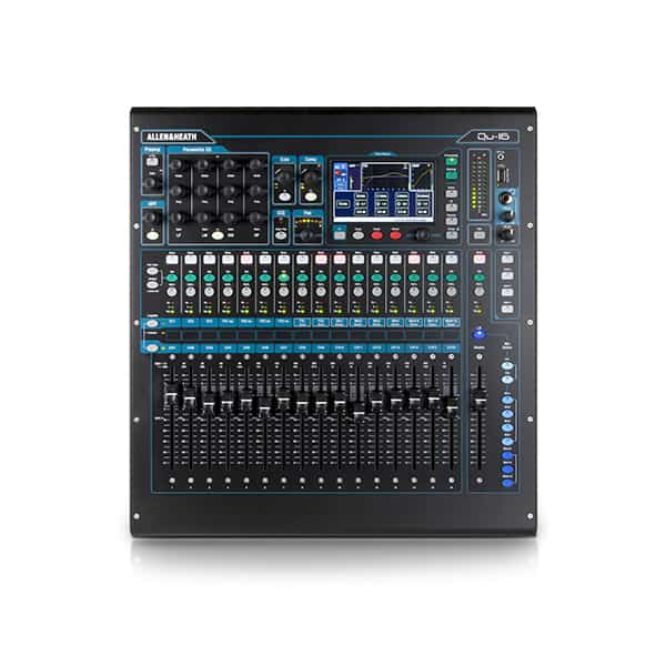 Allen And Heath QU16 mixer audio hire live sound equipment vortex events