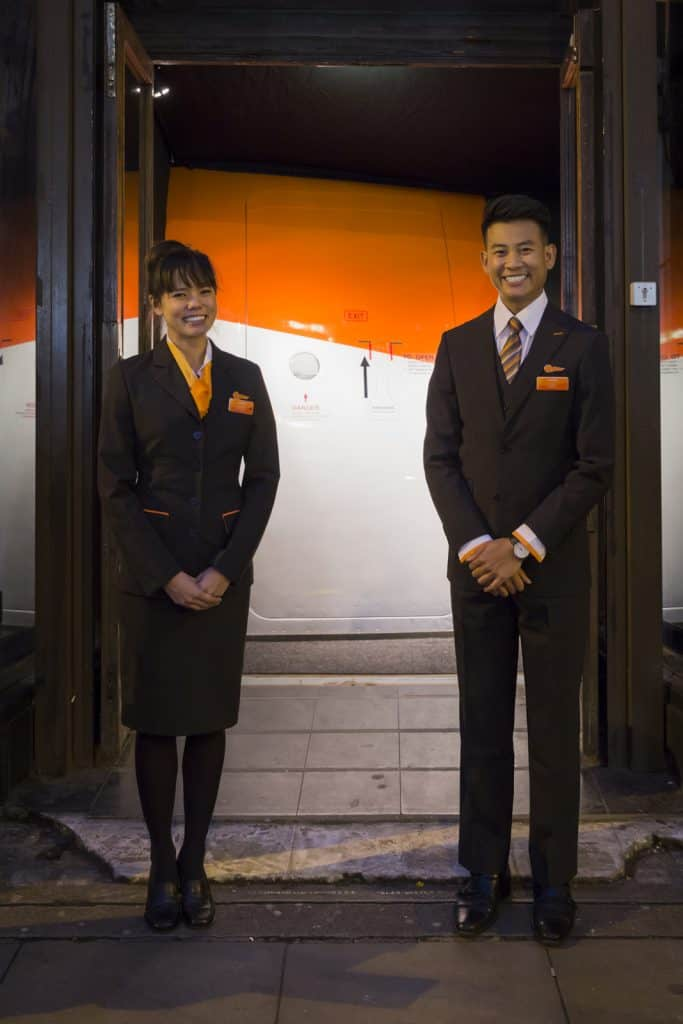 EasyJet Immersive theatre experience Vortex Events