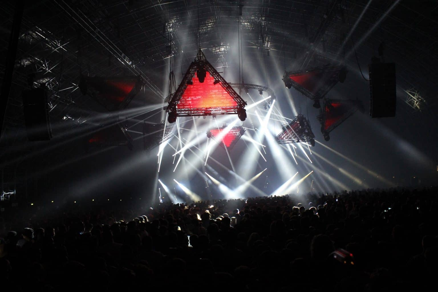 Creamfields 2016 Stealth LED Screen - Vortex Events