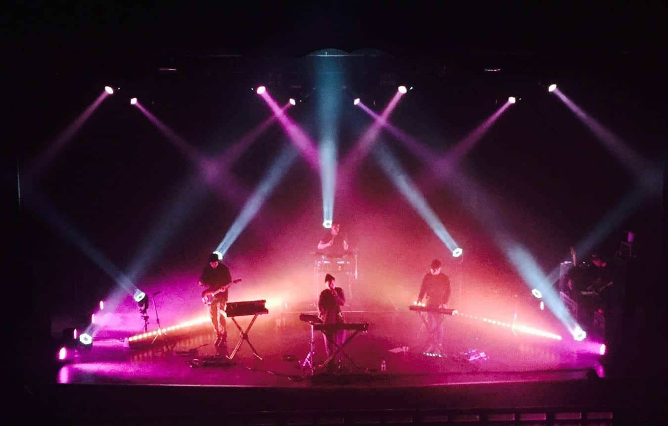 Shura tour Lighting hire Vortex Events touring 2016