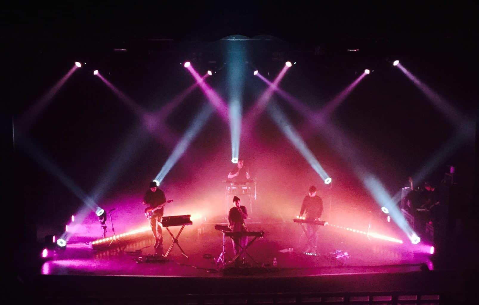 Shura tour Lighting hire Vortex Events touring 2016