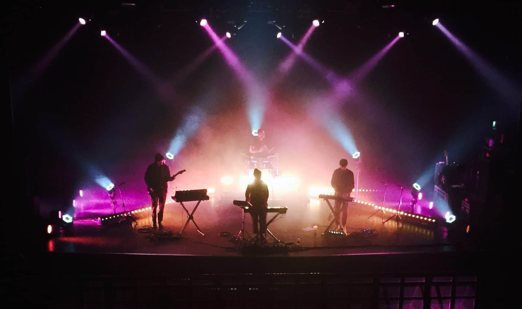 Shura Lighting hire Vortex Events touring 2016