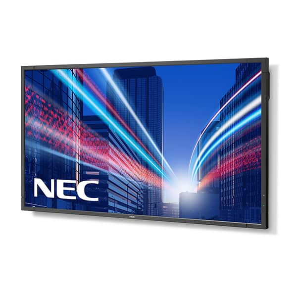 nec p553 lcd screen video hire vortex events