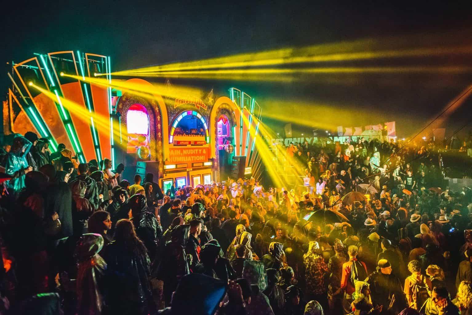 Colosillyum stage at Secret Garden Party 2017