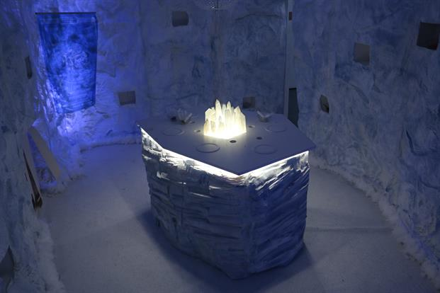 Ice Cave at Starbucks Immersive Experience