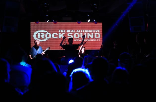 Rock Sound Breakout stage at Slam Dunk South 2017