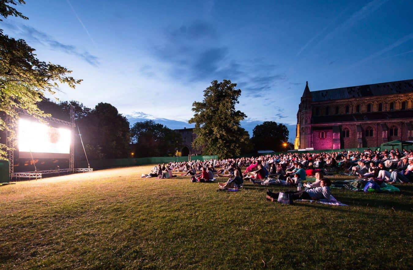 open air outdoor cinema led screen