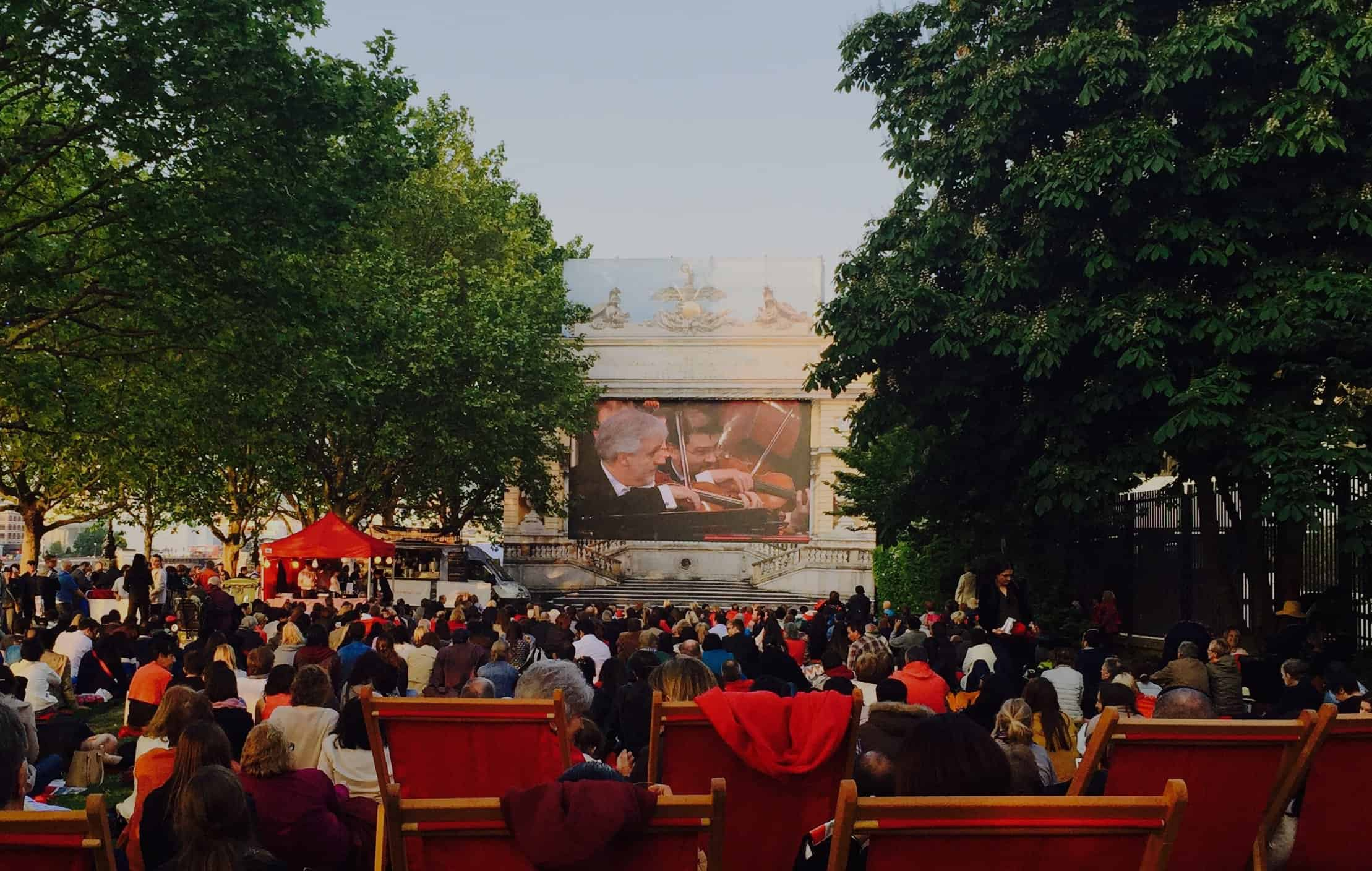 LED Screen Hire Outdoor Cinema Video Hire Southbank Centre Vortex Events