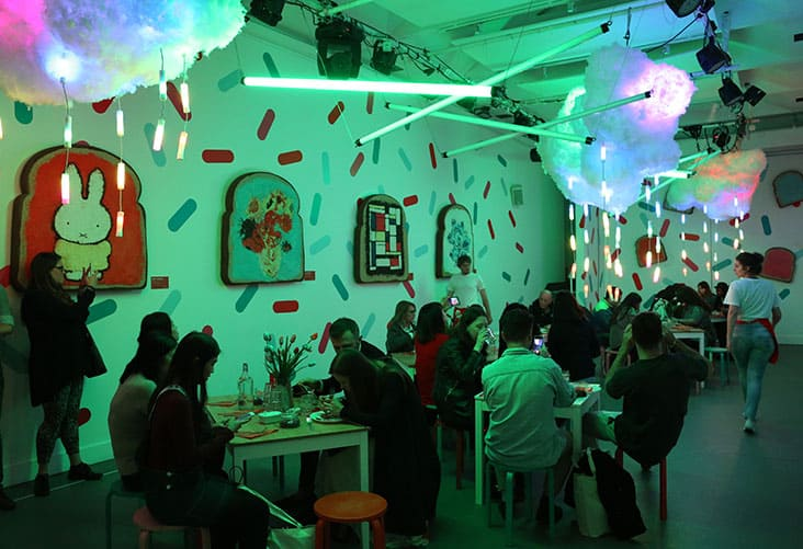 EasyJet Cafe Van Der Sprinkles Experience Vortex Events