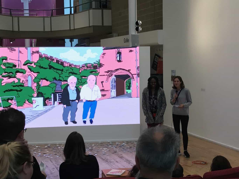Janette Parris #HatfieldConversations 'streamed' animation Vortex Events