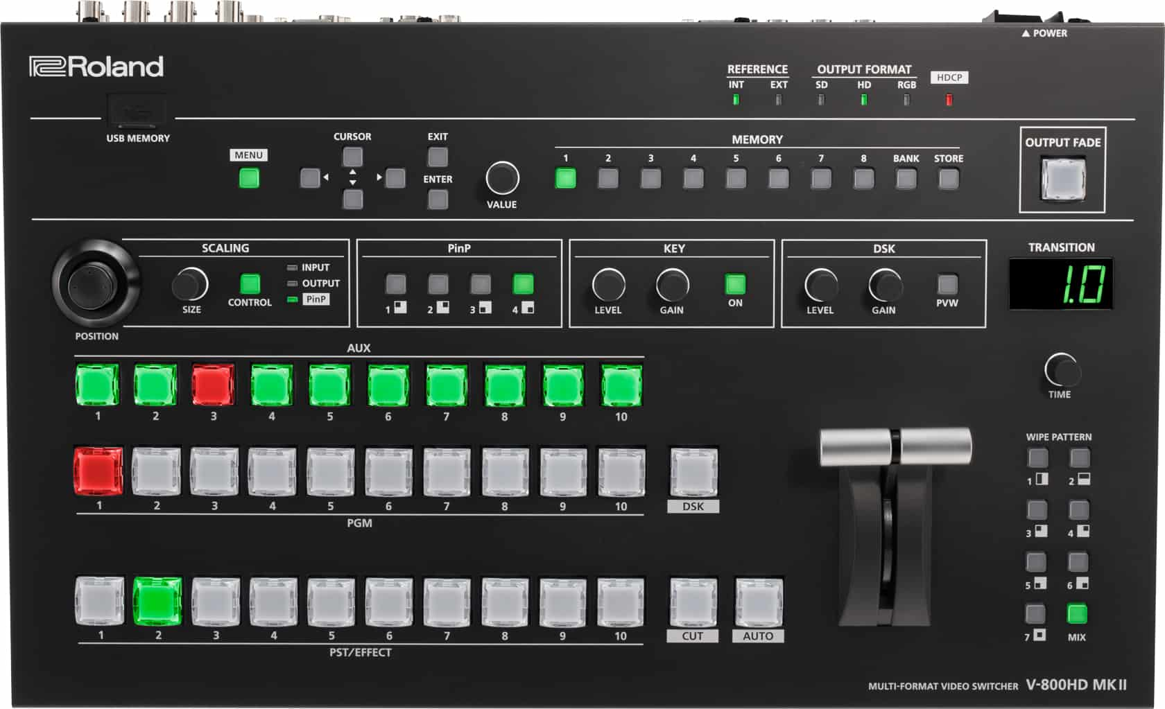 Roland V-800HD MK II Vortex Events
