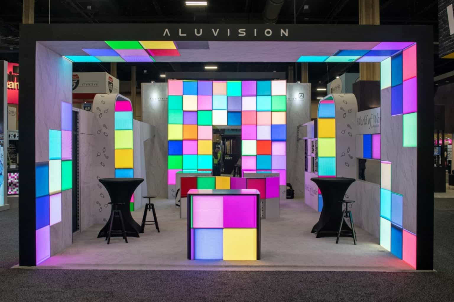 Aluvision Hi-LED 55 Screen Vortex Events
