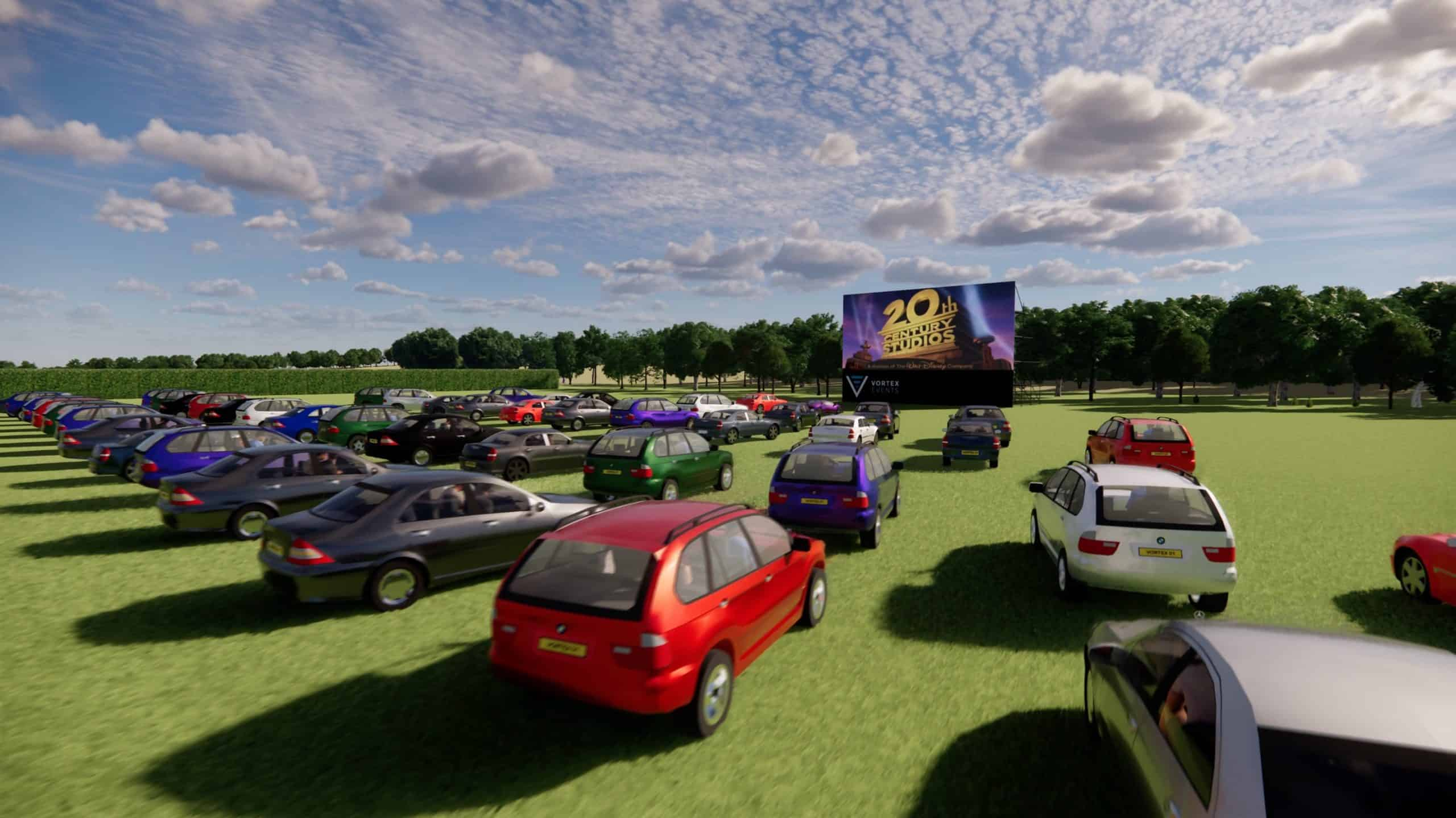 Drive in Cinema LED Screen hire