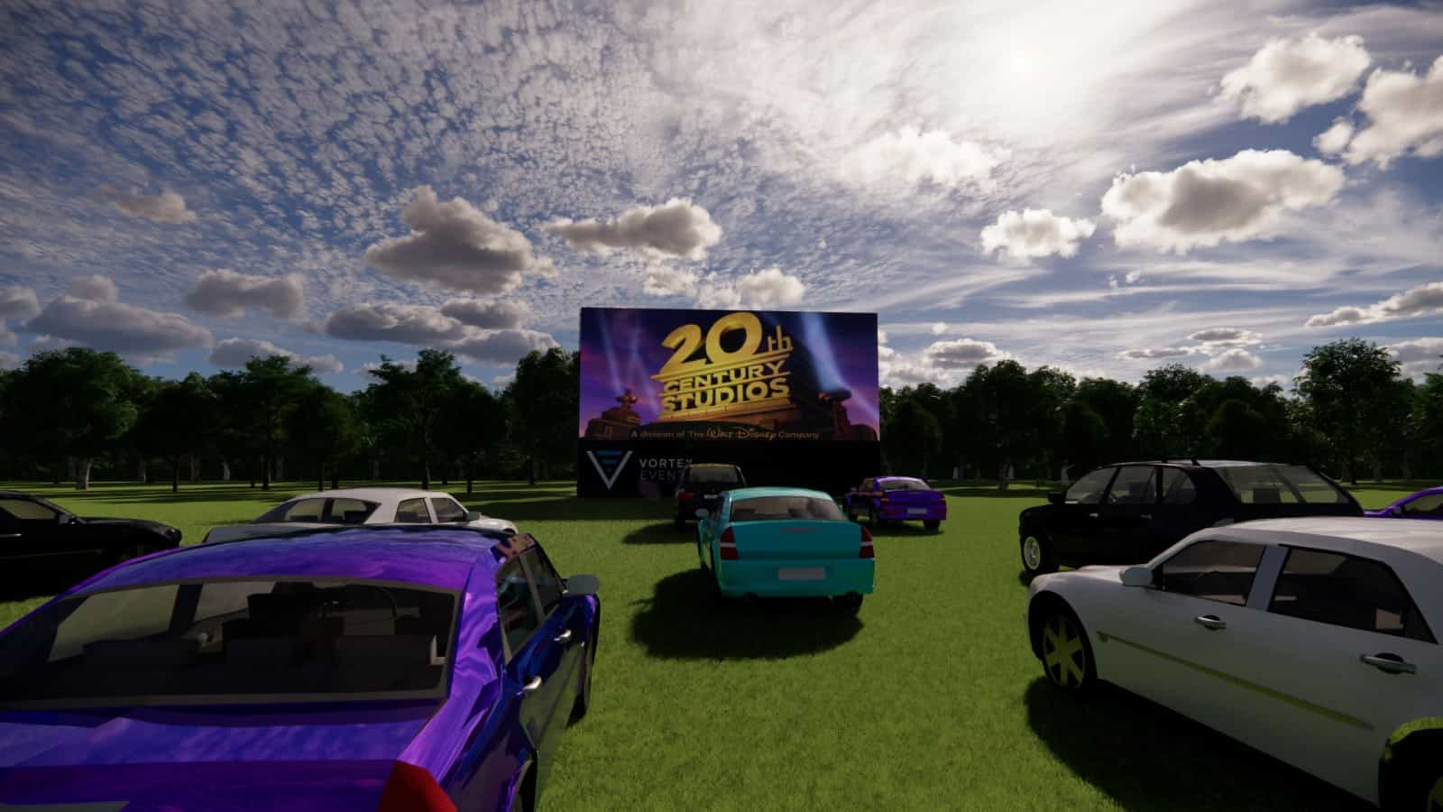 Drive in cinema Vortex Events